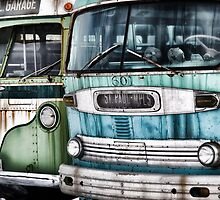 Old Buses by Gypsykiss