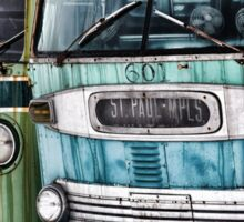 Old Buses Sticker