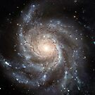 Spiral galaxy Messier 101. by StocktrekImages