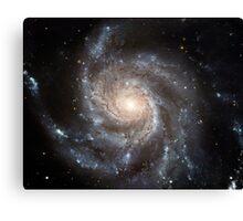 Spiral galaxy Messier 101. Canvas Print