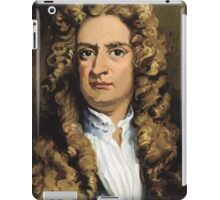 Sir Isaac Newton Painting iPad Case/Skin