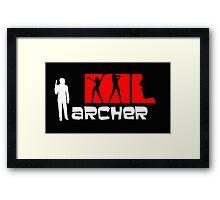 Archer Red Framed Print