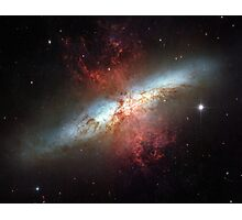 Starburst galaxy, Messier 82 Photographic Print