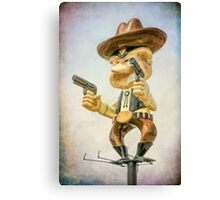 Pistol Pete Canvas Print