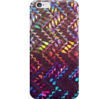 Aztec zig zag pattern iPhone Case/Skin