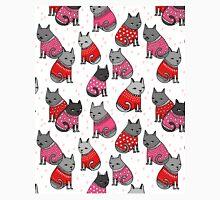 Sweater Cats valentine love cute kitten // pink red andrea lauren  Classic T-Shirt
