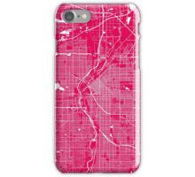 DenverDenver map rapsberry iPhone Case/Skin