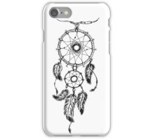 Ethnic dream catcher with feathers iPhone Case/Skin