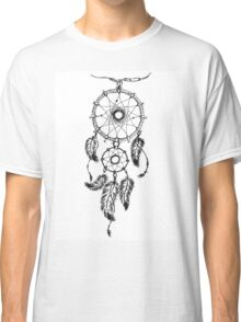 Ethnic dream catcher with feathers Classic T-Shirt
