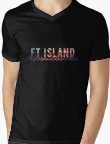 FT ISLAND Mens V-Neck T-Shirt
