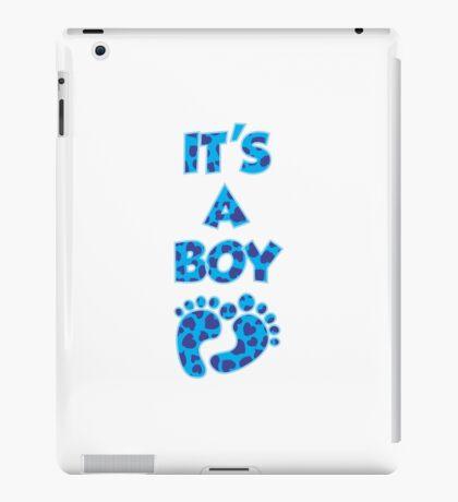 Its a Boy! iPad Case/Skin