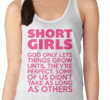 Short Girls Funny Quote Women's Tank Top