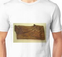 Lizard And Fleeing Deer Unisex T-Shirt