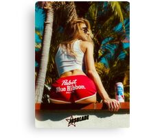 90s Beach Girl ★ Canvas Print