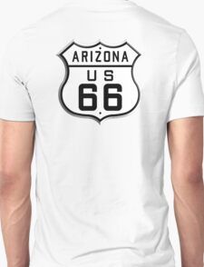 ARIZONA, America, U.S, Route 66, Music, USA, 1926 to 1948, Americana T-Shirt
