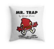 Mr Trap Throw Pillow