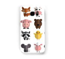 Flat animals Samsung Galaxy Case/Skin