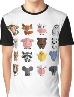 Flat animals Graphic T-Shirt