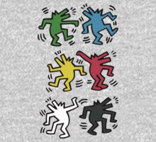 Lets Dance - HARING One Piece - Long Sleeve