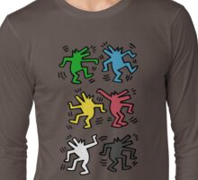Lets Dance - HARING Long Sleeve T-Shirt