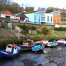 Ouse Burn Boats, Newcastle by Woodie