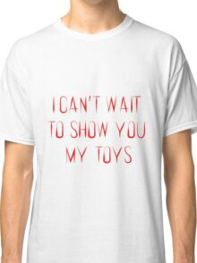 Suicide Squad Joker Quote Classic T-Shirt