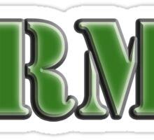 Army, Soldier, War, Infantry, Conflict, Warrior, Grunt, fighter, fighting force Sticker