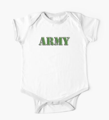 Army, Soldier, War, Infantry, Conflict, Warrior, Grunt, fighter, fighting force One Piece - Short Sleeve