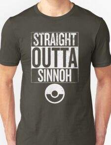 Pokemon Straight Outta Sinnoh T-Shirt