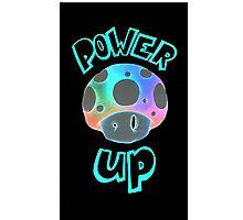 Mario Power Up Mushroom  Photographic Print