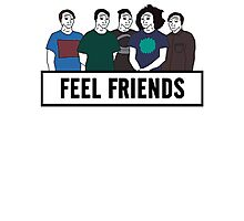 Feel Friends Photographic Print