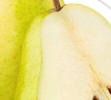 Yellow pears Sticker