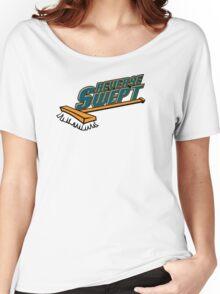 Reverse Swept Women's Relaxed Fit T-Shirt