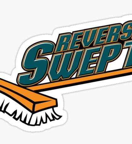 Reverse Swept Sticker