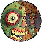 Apocalyptic circle of undead by byronrempel