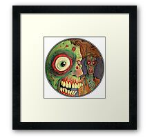 Apocalyptic circle of undead Framed Print