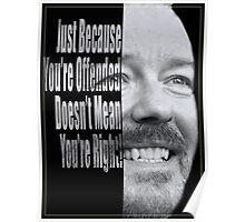 Ricky Gervais - You're Wrong. Poster