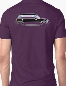 MINI, CAR, BLACK, BMW, BRITISH ICON, MOTORCAR Unisex T-Shirt