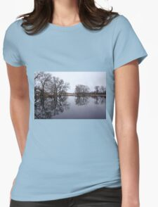 The Edge Of Spring Womens Fitted T-Shirt