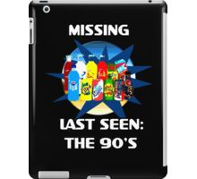 Last Seen: The 90's iPad Case/Skin