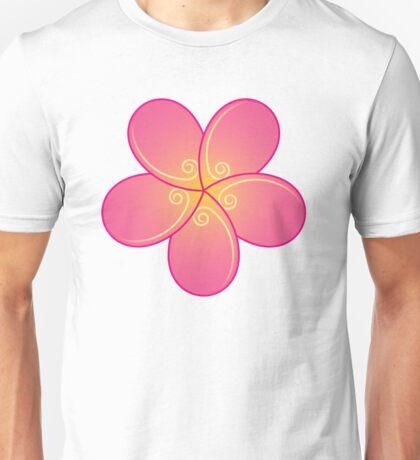 Stylized plumeria Unisex T-Shirt