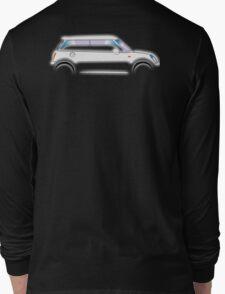 MINI, CAR, WHITE, BMW, BRITISH ICON, MOTORCAR Long Sleeve T-Shirt