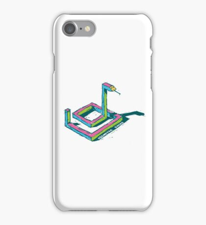 Isometric Snake  iPhone Case/Skin