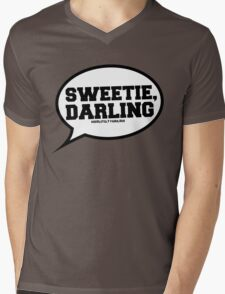 """Sweetie, Darling"" - Absolutely Fabulous Mens V-Neck T-Shirt"