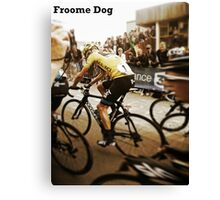 Froome Dog Canvas Print