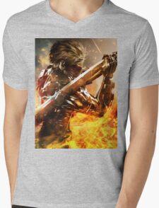 Metal Gear Rising Mens V-Neck T-Shirt