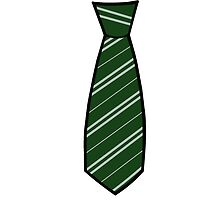 Slytherin Tie  by Stacey Roman