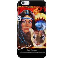 Mountain Lion Medicine iPhone Case/Skin