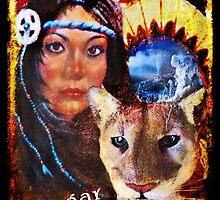 Mountain Lion Medicine by Nadya Johnson