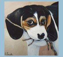 Beagle Puppy One Piece - Short Sleeve